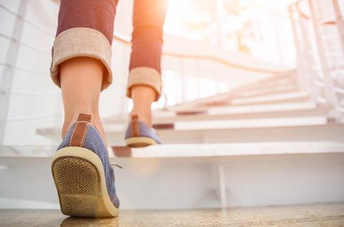 Escolher as escadas faz bem para a saúde