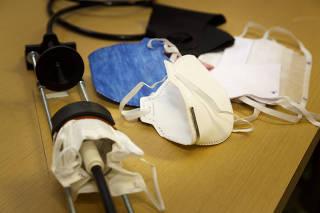 Usar máscara durante exercícios é essencial contra o contágio