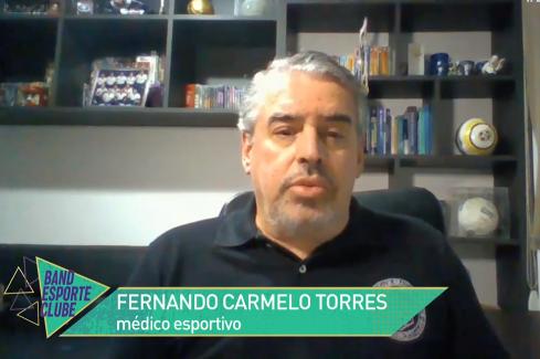 Diretor Científico da SBMEE fala sobre uso de máscara no vôlei – Band Esporte Clube